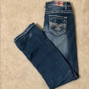 Machine Nouvelle Mode Faded Jeans